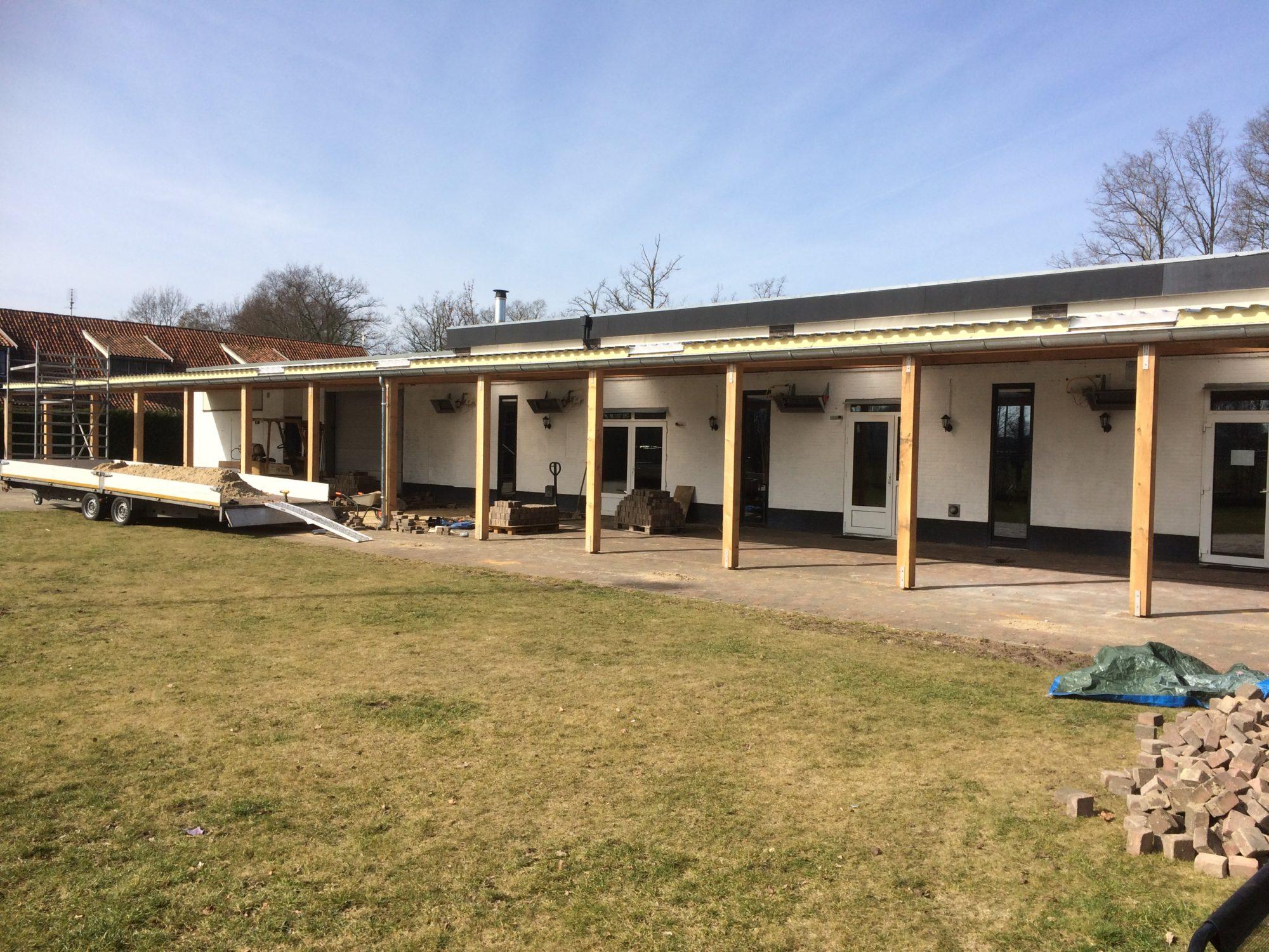 Nieuwsbericht: Nieuwe terrasoverkapping